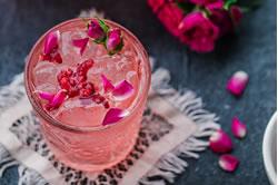 Raspberry Rosé Punch