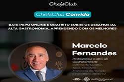 Convite: Marcelo Fernandes e Chefs Club – 17/08 – 19h