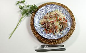 Aprenda a fazer um arroz de carreteiro fácil e saboroso