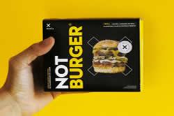 NotBurger, hambúrguer à base de plantas da foodtech NotCo, chega ao Brasil