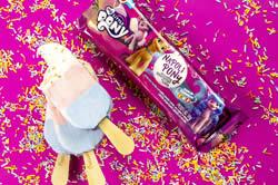 Dia das Crianças: Sorvetes Jundiá lança picolés My Little Pony e PJ Masks